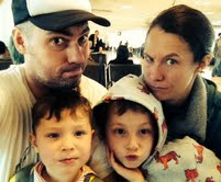 Family Selfie at the Airport